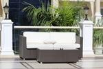 Ратанова  мебел за открито и закрито на плажната ивица