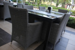 Ратанова мебел за всички видове пространства на плажа