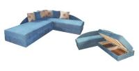 Сини ъглови легла