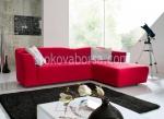 голям ъглов дизайнерски диван
