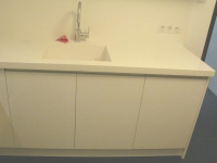 Кухненски мебели в изчистени линии