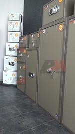 Свободностоящ хотелски сейф за вграждане