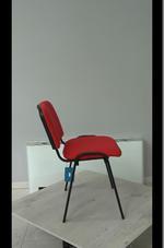 касиви червени офис столове